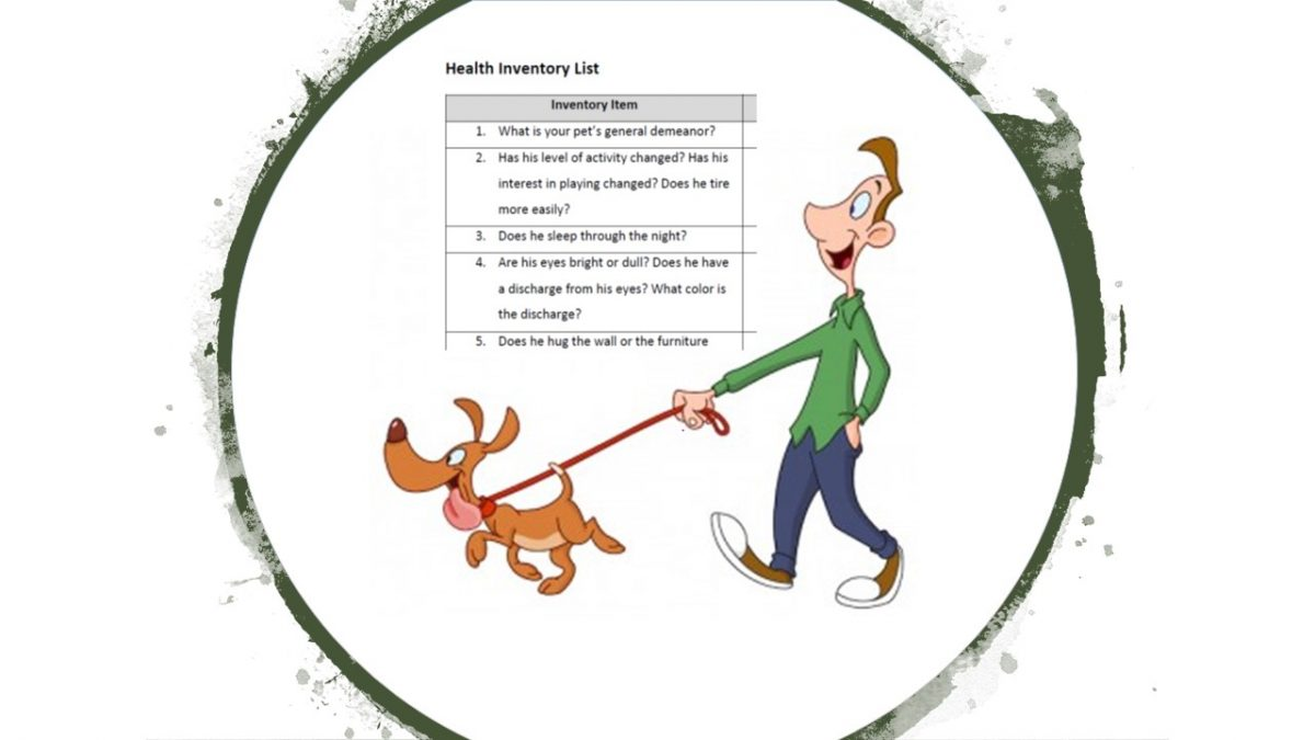 Welsh Terrier Health Inventory List